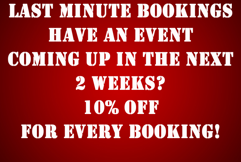 Last Minute Bookings Deals