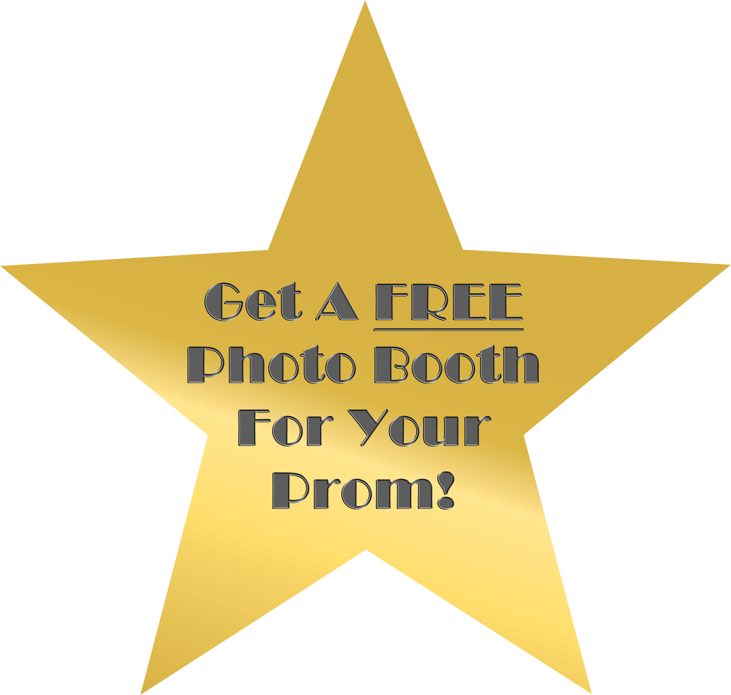 Free School Prom Photo Booth!