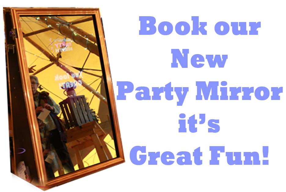 Facebook Party Mirror