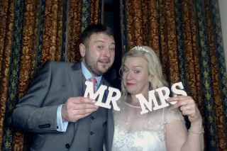 Mandie and Rob at the Beverley Arms Hotel