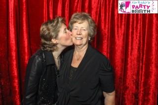 Zoe and her mum at the Airmyn Grange